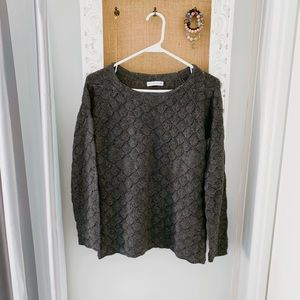 Mermaid design sweater